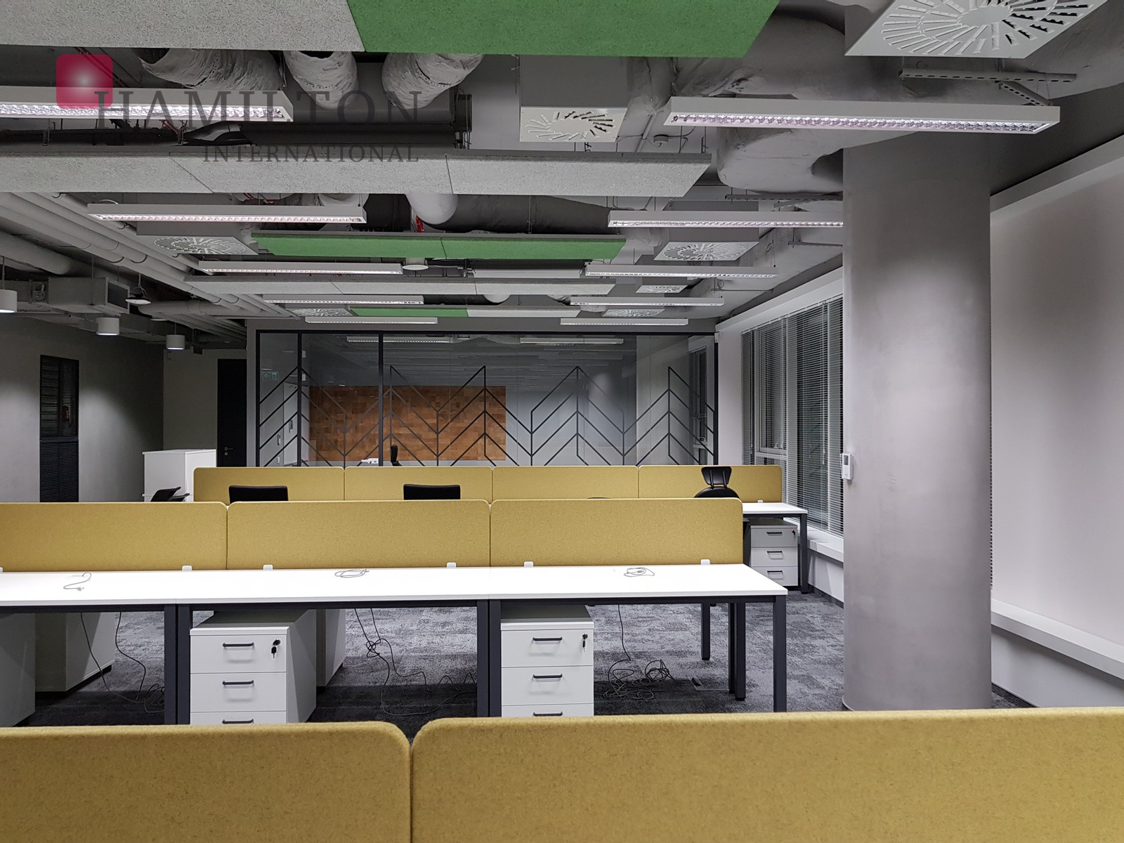 Office in a modern building in Mokotów Warsaw office space photo