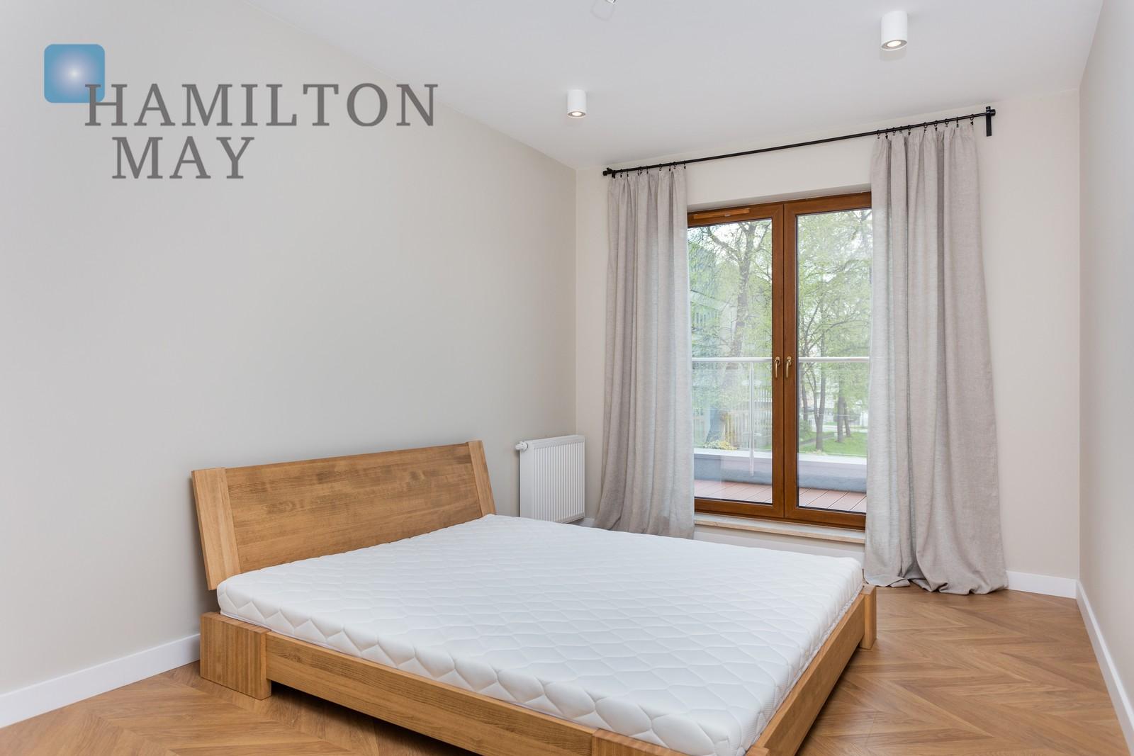 Stylish apartment with a balconyin Grzegorzki Investment Krakow for rent