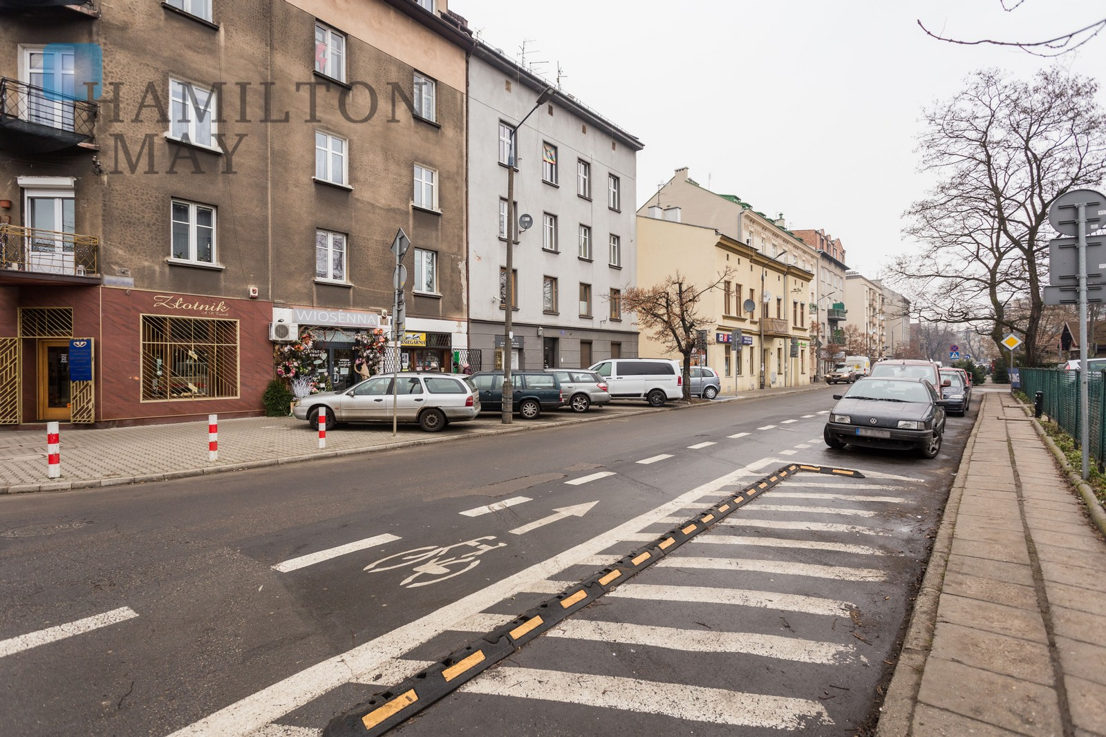 A spacious, two bedroom apartment in a quiet neighborhood Krakow for sale