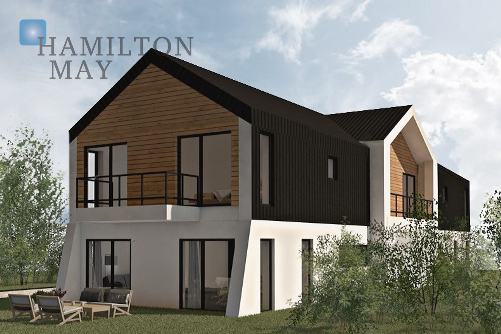A modular, energy-saving semi-detached house in a great location - Wola Justowska Krakow for sale