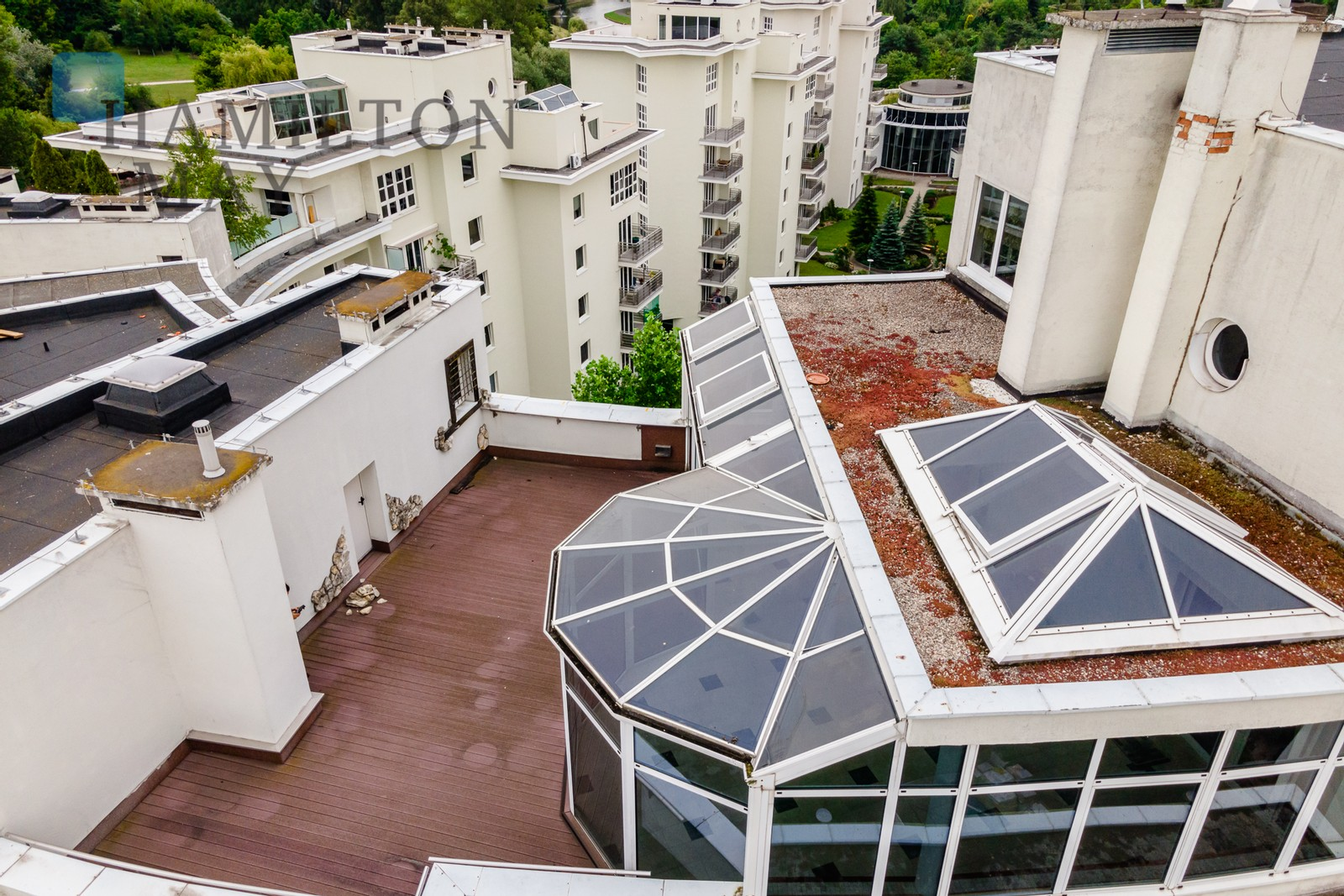 Luxurious Penthouse with Winter Garden and Terrace Warsaw for sale