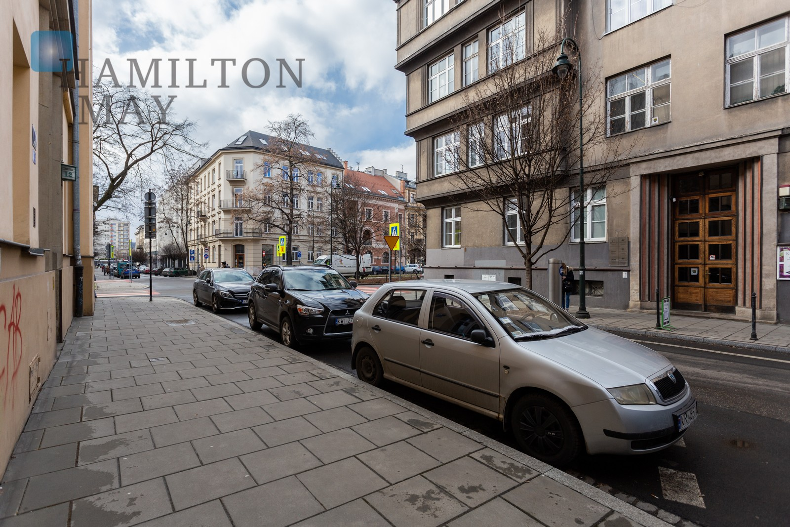 A spacious apartment with high ceilings of 165.9 sqm in the very center of old Krakow Krakow for sale