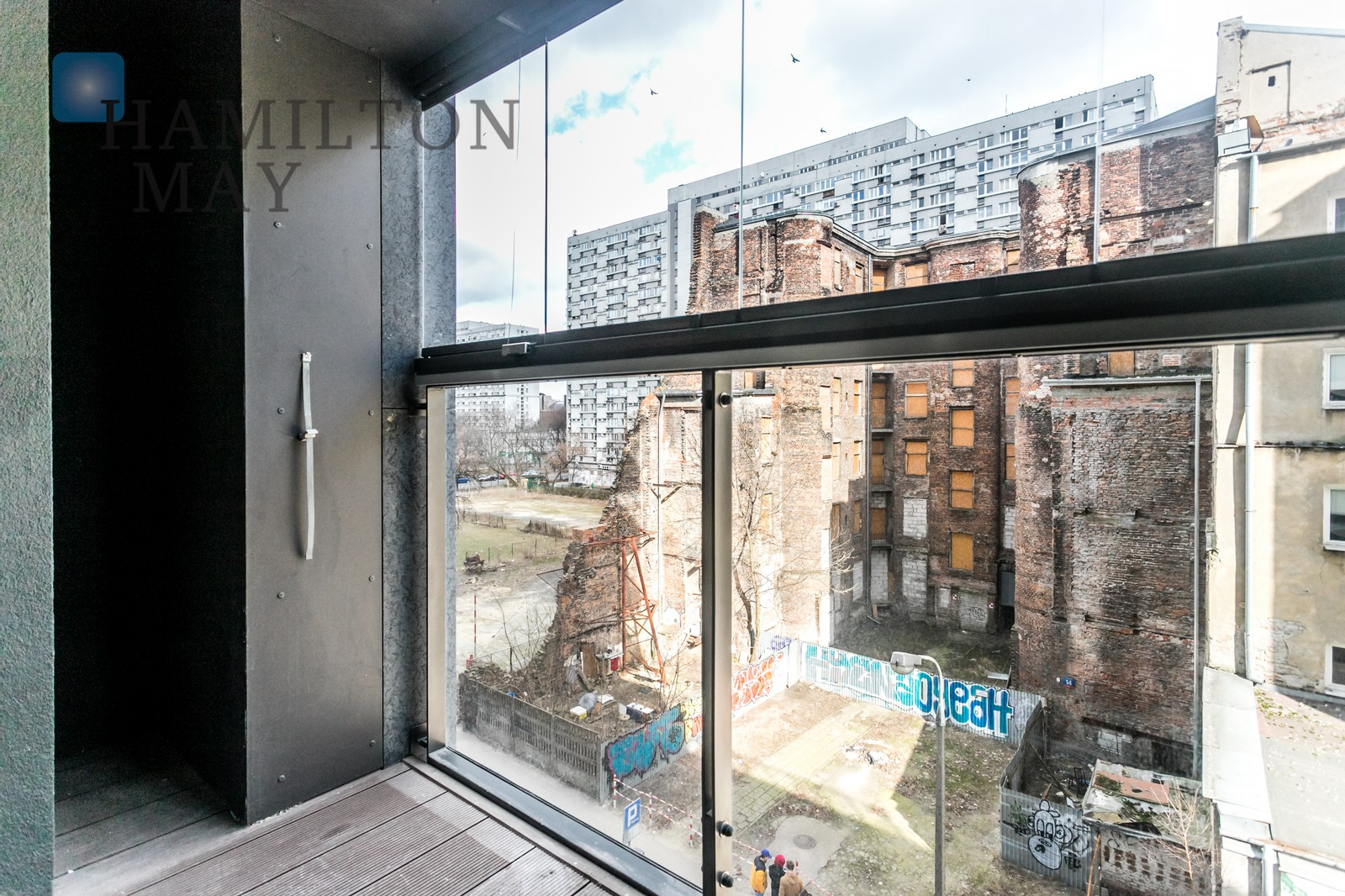 New, one bedroom apartment in the Mennica Residence Warsaw for rent