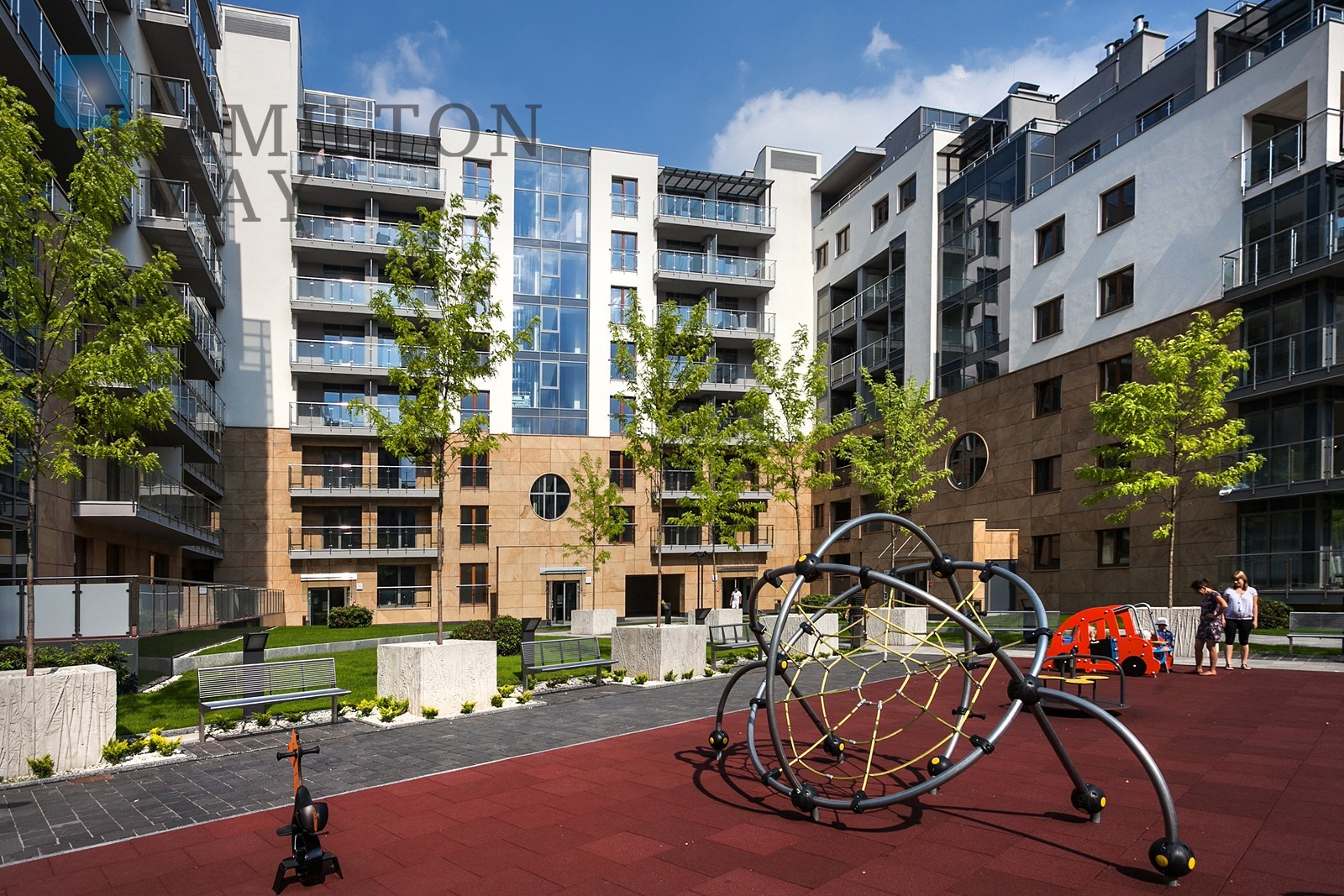 Wislane Tarasy Krakow development photo