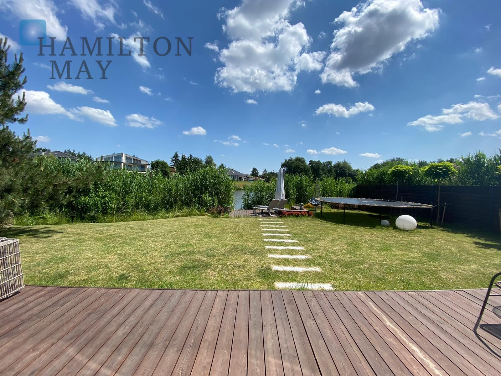 Unique, detached, new family home with lake access in Wawer Warsaw for sale
