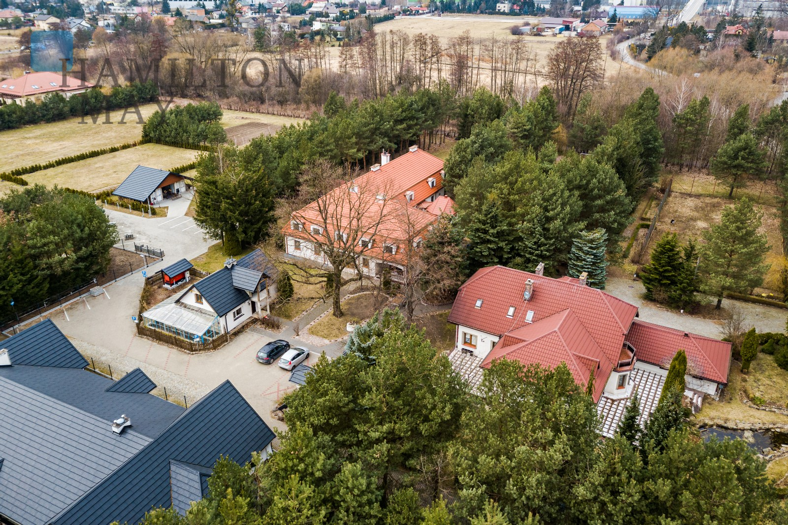 Pension for sale in Rusiec, 25 minutes from the center of Warsaw Warsaw for sale