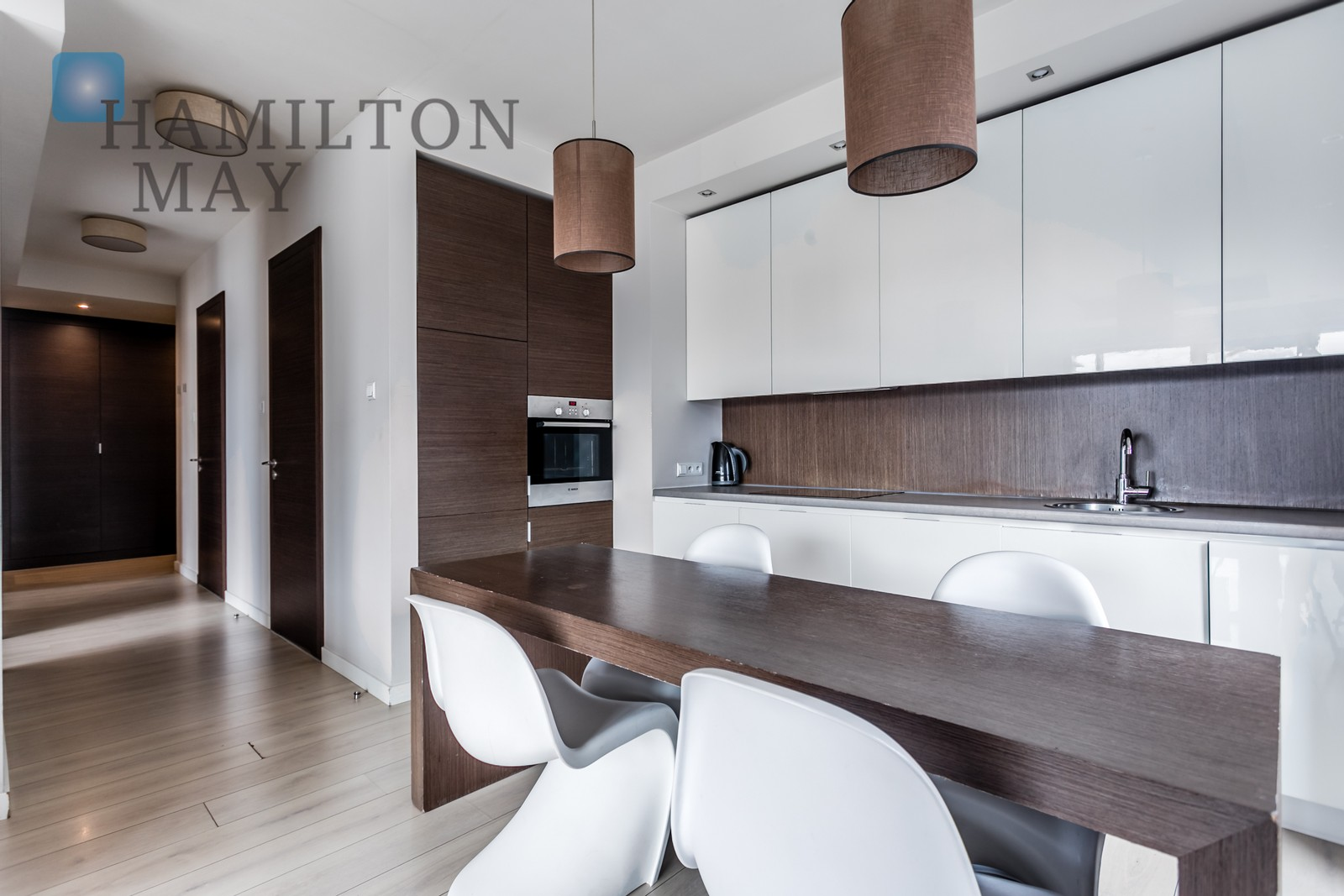 Two bedroom apartment in the Platinum Towers development Warsaw for sale