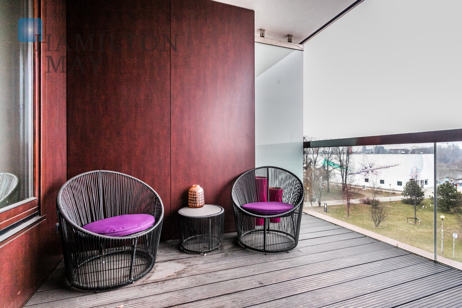 Nowoczesny apartament z widokiem na Wisłę przy Centrum Kopernika Warszawa na wynajem