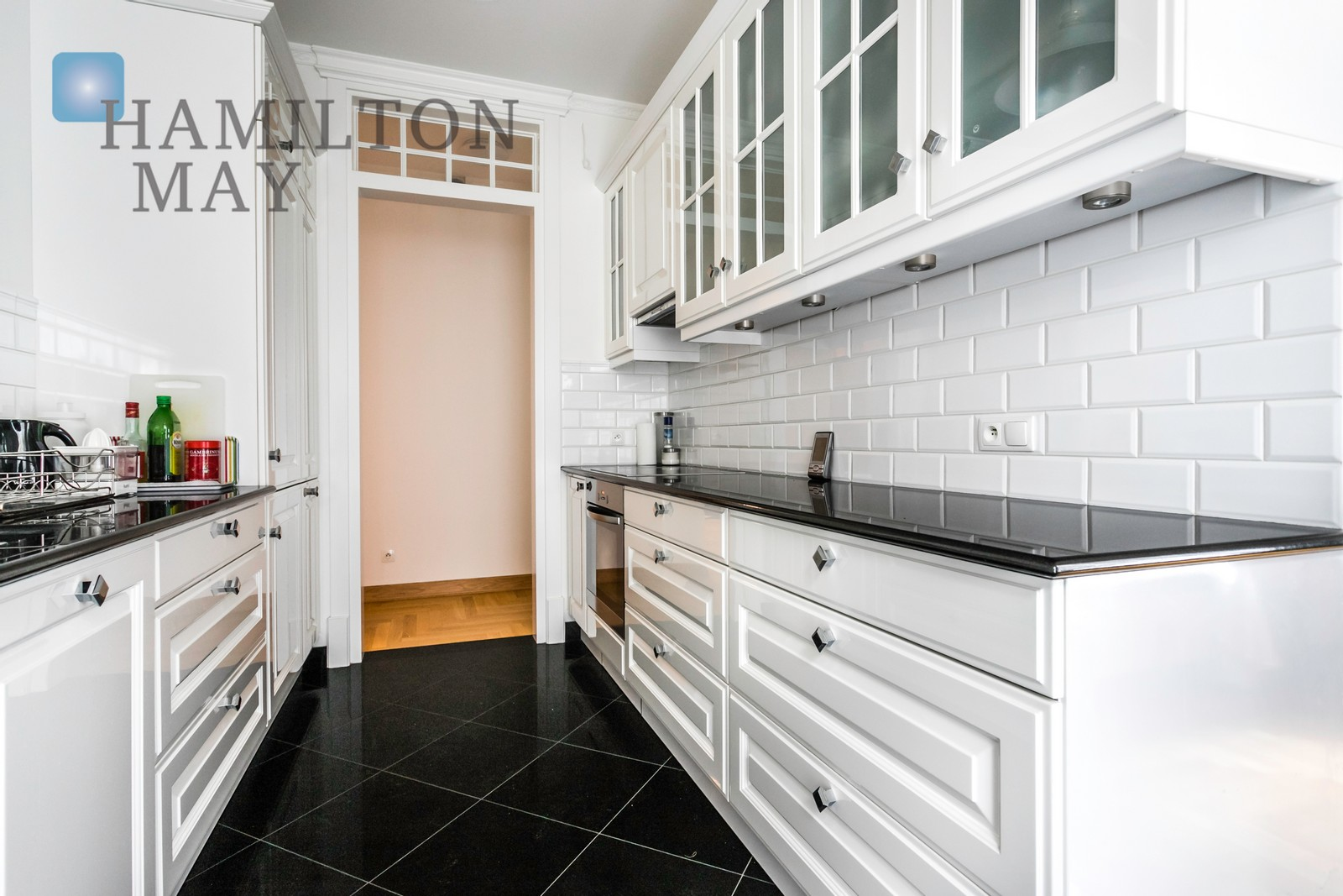 A three bedroom apartment in a renovated Restaura development Warsaw for rent