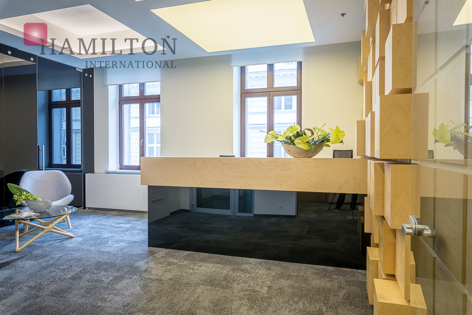 An office in a historic tenement house Warsaw office space photo