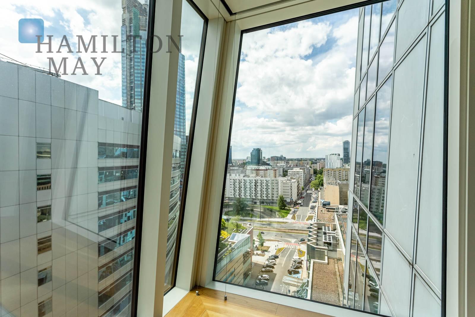 Wyjątkowy apartament na 14 piętrze inwestycji Złota 44 Warszawa na wynajem