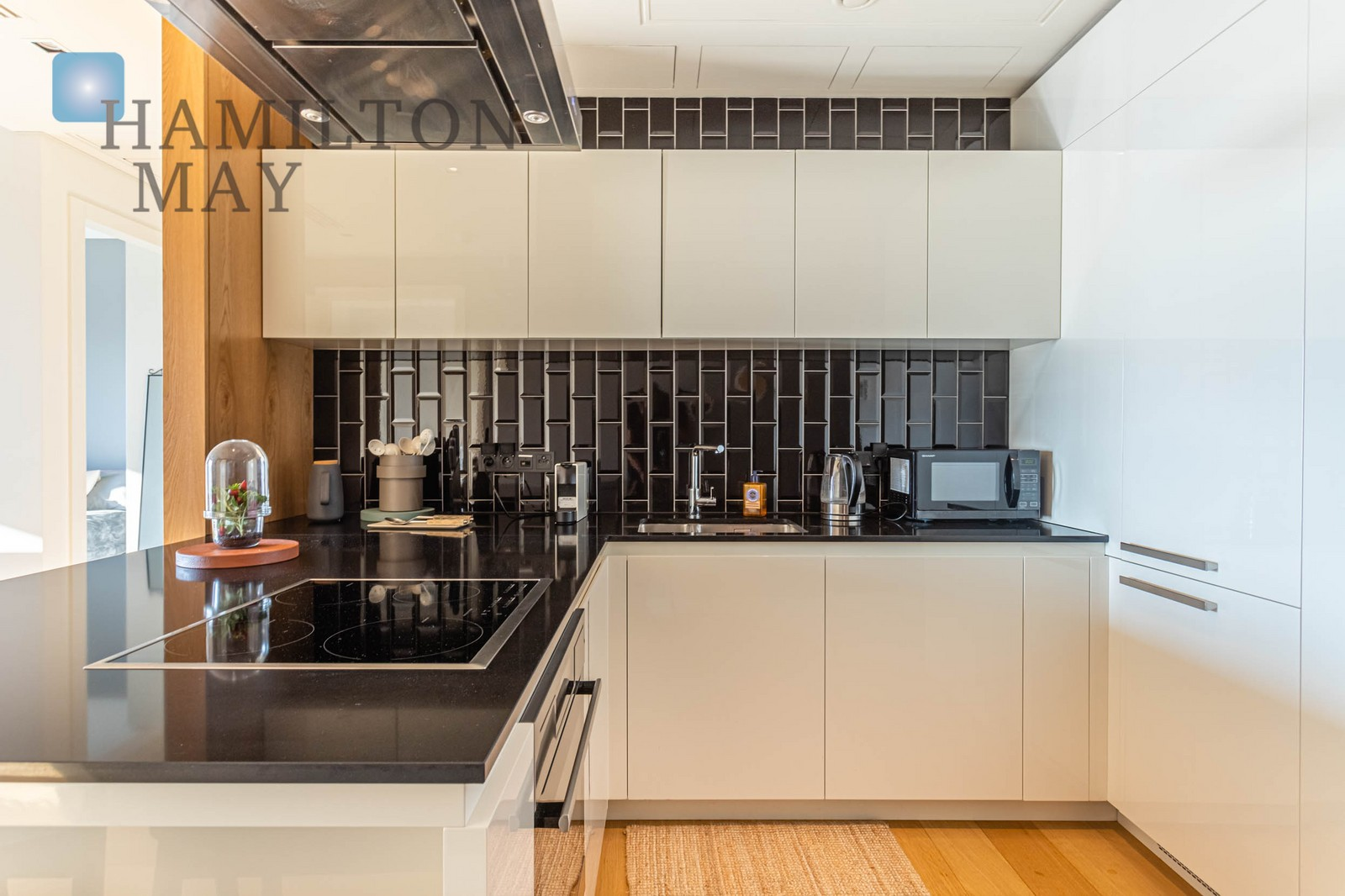 A luxurious apartment on the 18th floor of the Złota 44 development Warsaw for rent