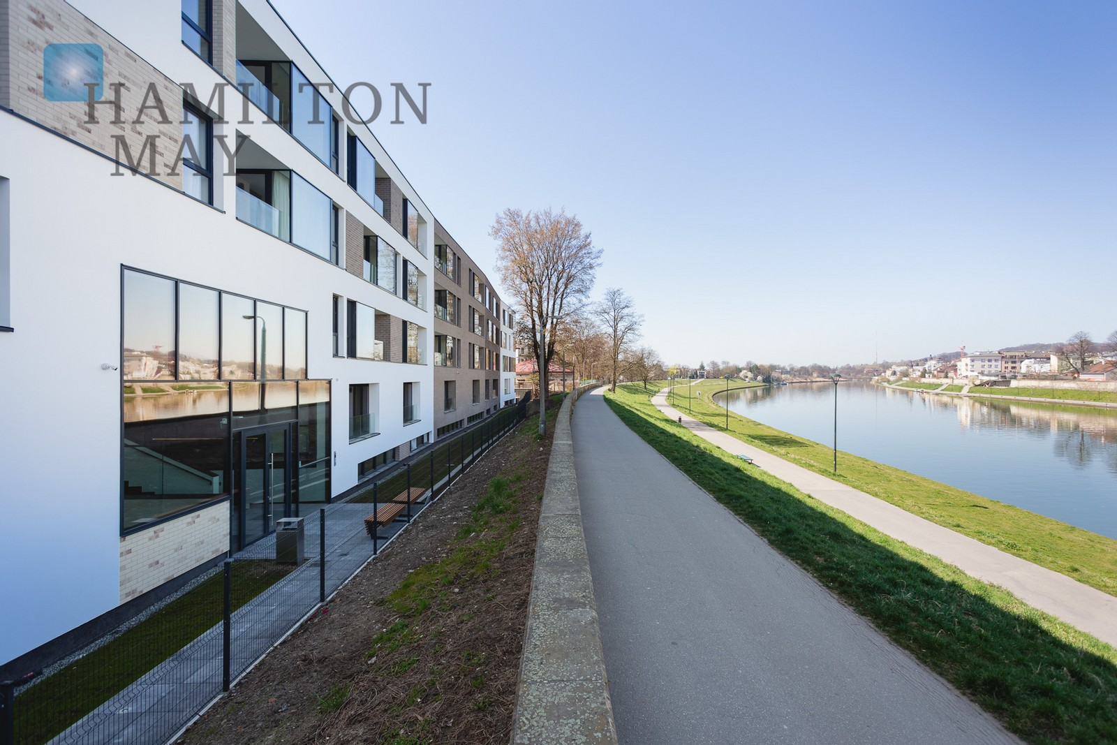 Brand new apartment with access to Vistula Boulevards Krakow for rent