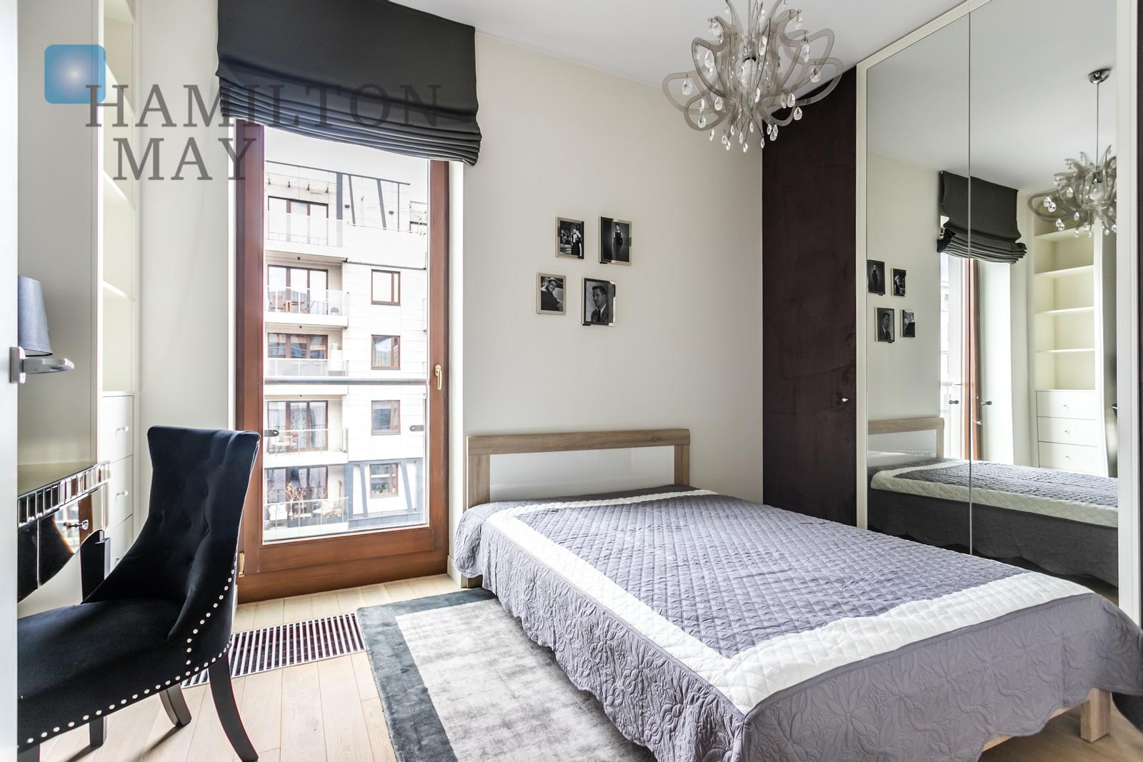 Luksusowy apartament w zielonej części Powiśla Warszawa na wynajem
