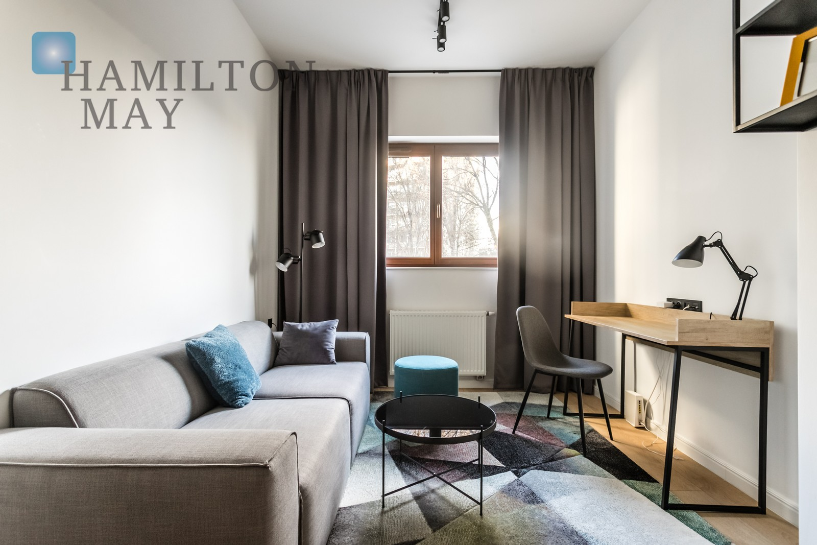A one bedroom apartment in Powiśle Warsaw for rent