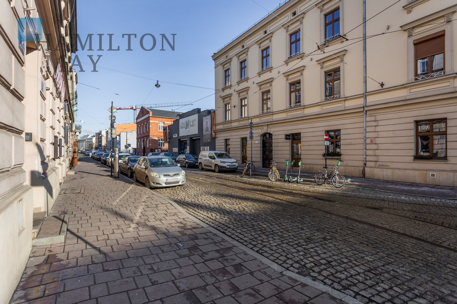 A comfortable apartment with a spacious wardrobe and a mezzanine in the heart of Kazimierz Krakow for rent