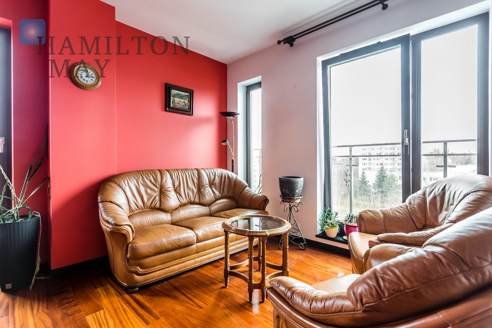 Apartament czteropokojowy w apartamentowcu na ul. Krasińskiego Warszawa na wynajem