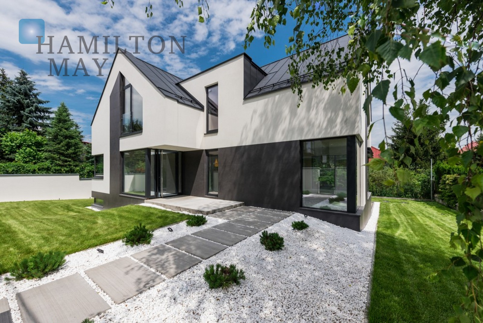 A modern energy-saving house in Wola Justowska Krakow for sale