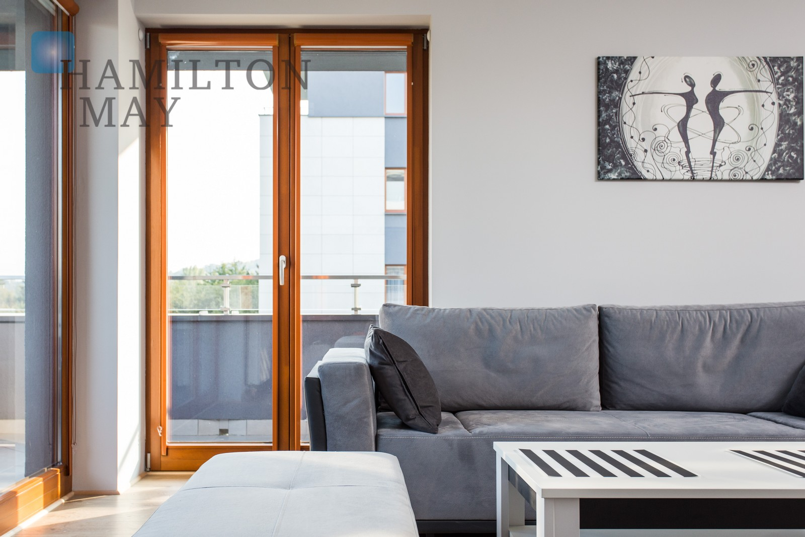 Modern, comfortable apartment in the Małe Błonia investment by the center of Kraków Krakow for rent
