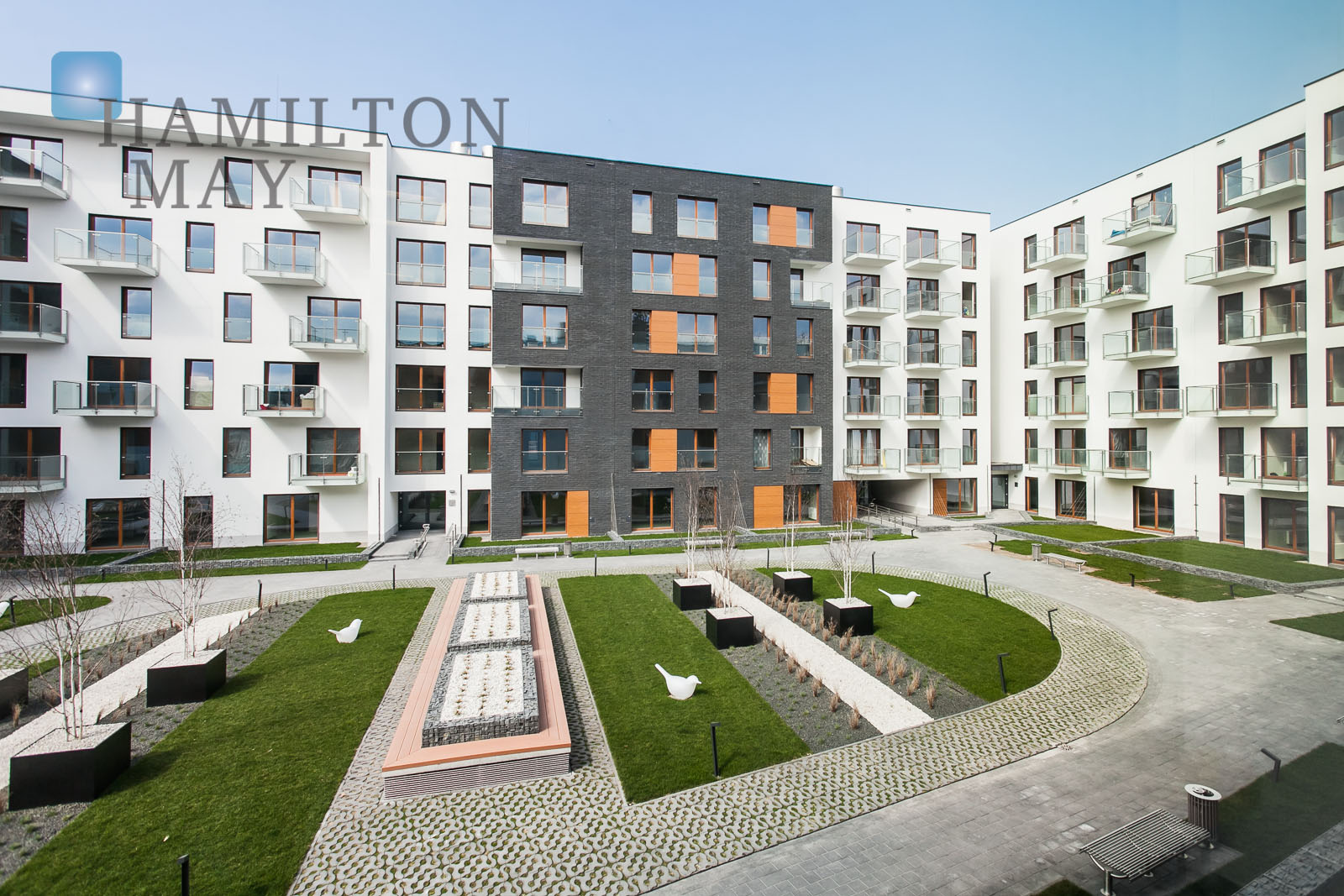 Elegant apartment in  Novum Apartments housing development Krakow for rent