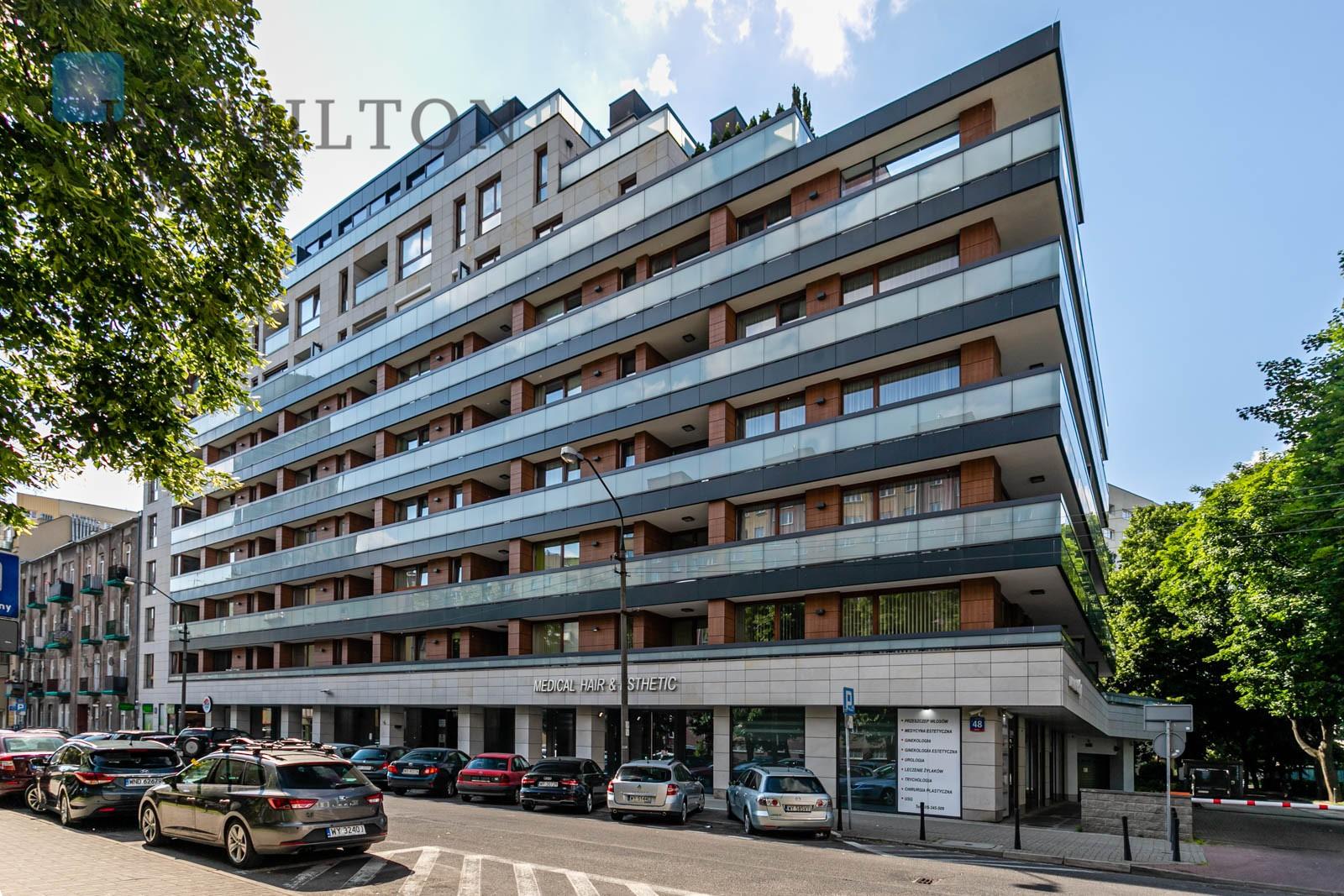 """Apartament w inwestycji """"Ogrodowa 48"""" Warszawa na wynajem"""