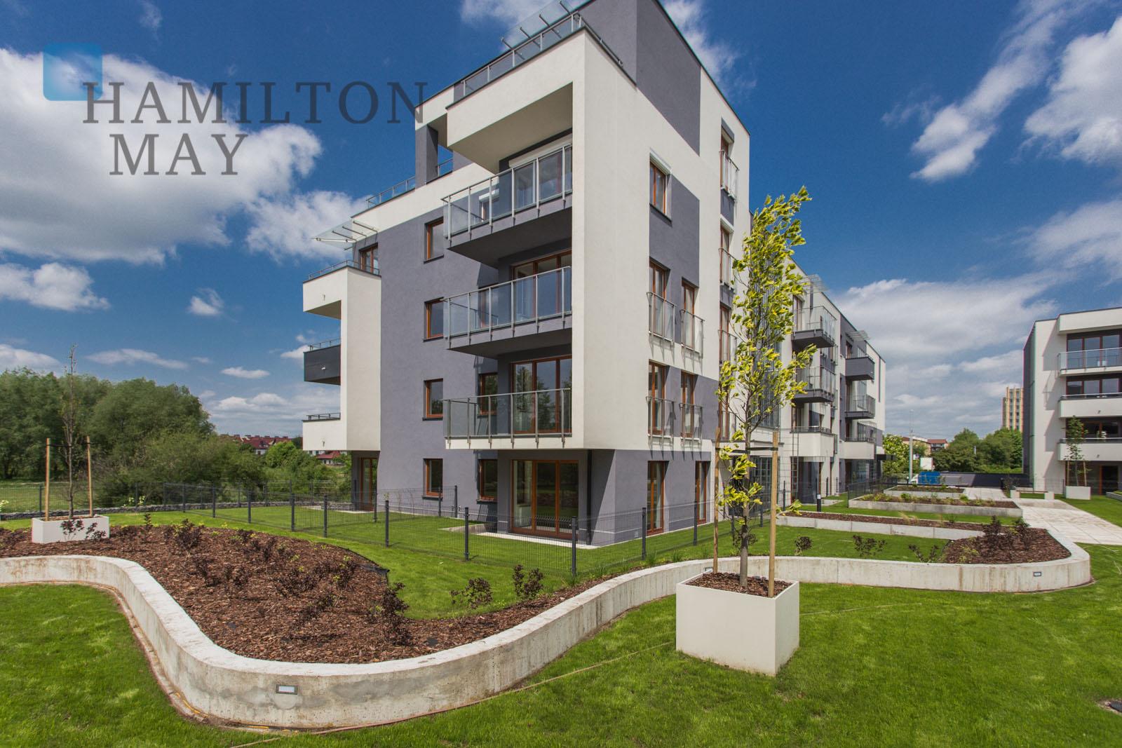 Nowoczesne i komfortowe mieszkanie w inwestycji Małe Błonia, w pobliżu centrum Krakowa Kraków na wynajem