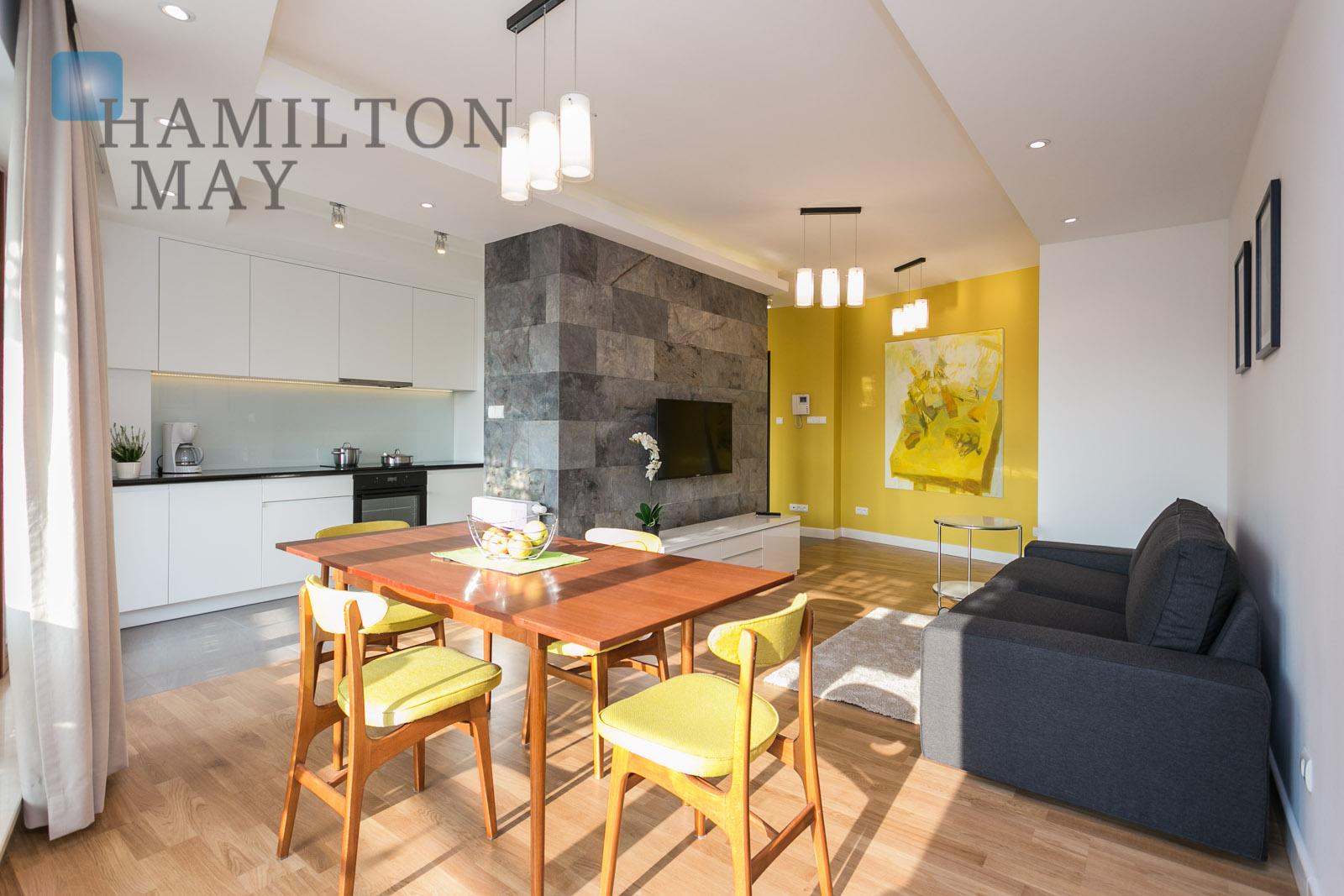 Sunny One Bedroom Apartment In Oxygen Development Wronia Warszawa For Rental Ref 4932 Hamilton May