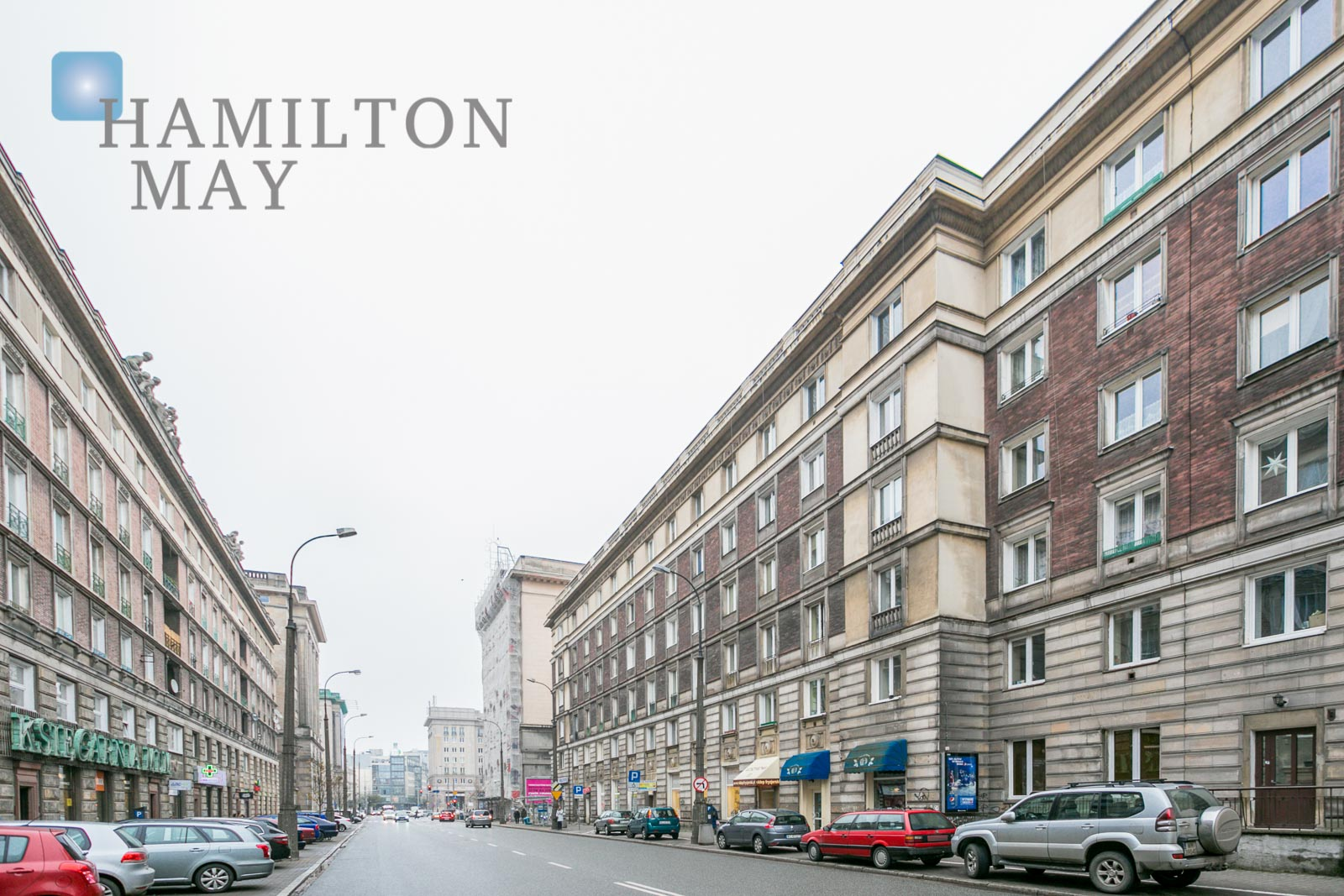 Two bedroom apartment by the Konstytucji square Warsaw for rent