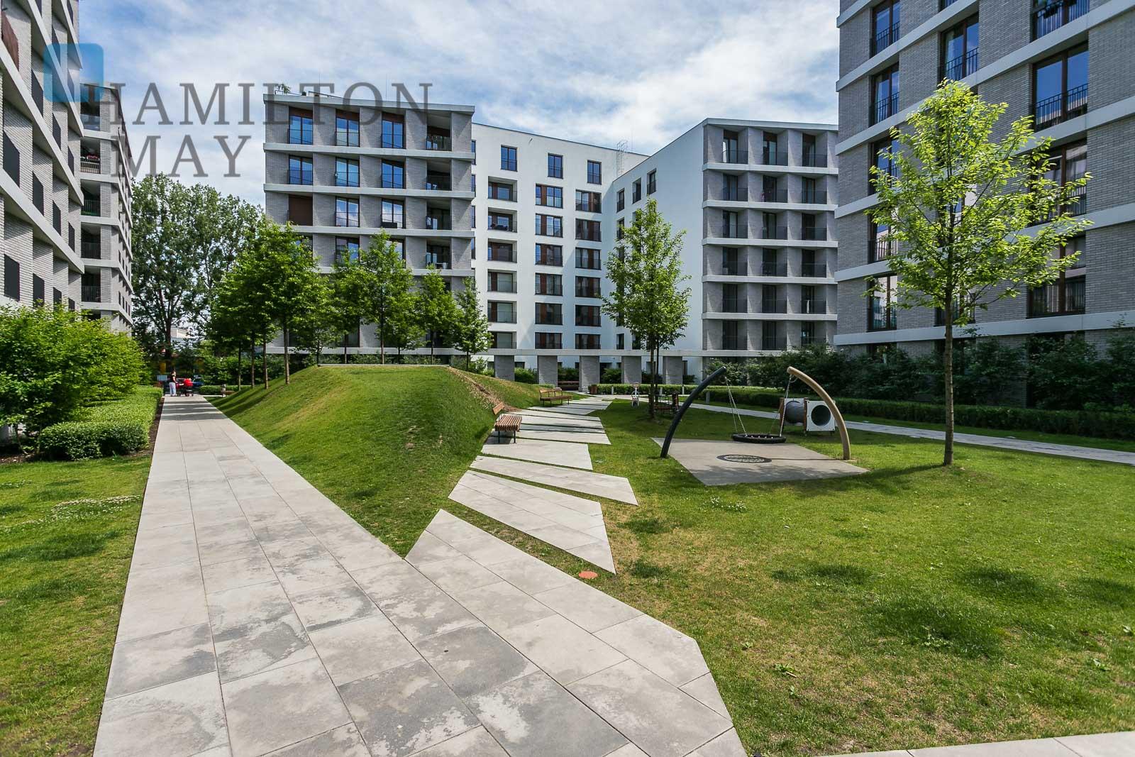 Moko settlement Warsaw development photo