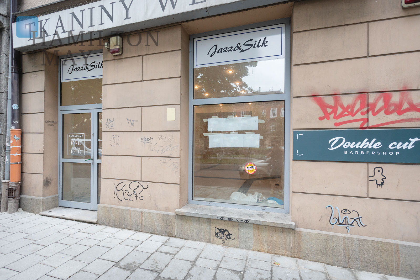 A front-facing commercial property in the center of Krakow Krakow for rent
