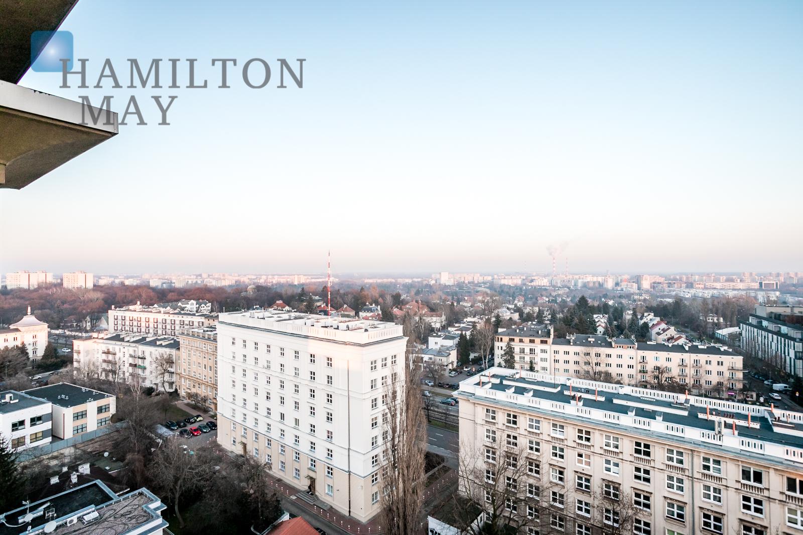Przestronny apartament z ciekawym widokiem Warszawa na sprzedaż