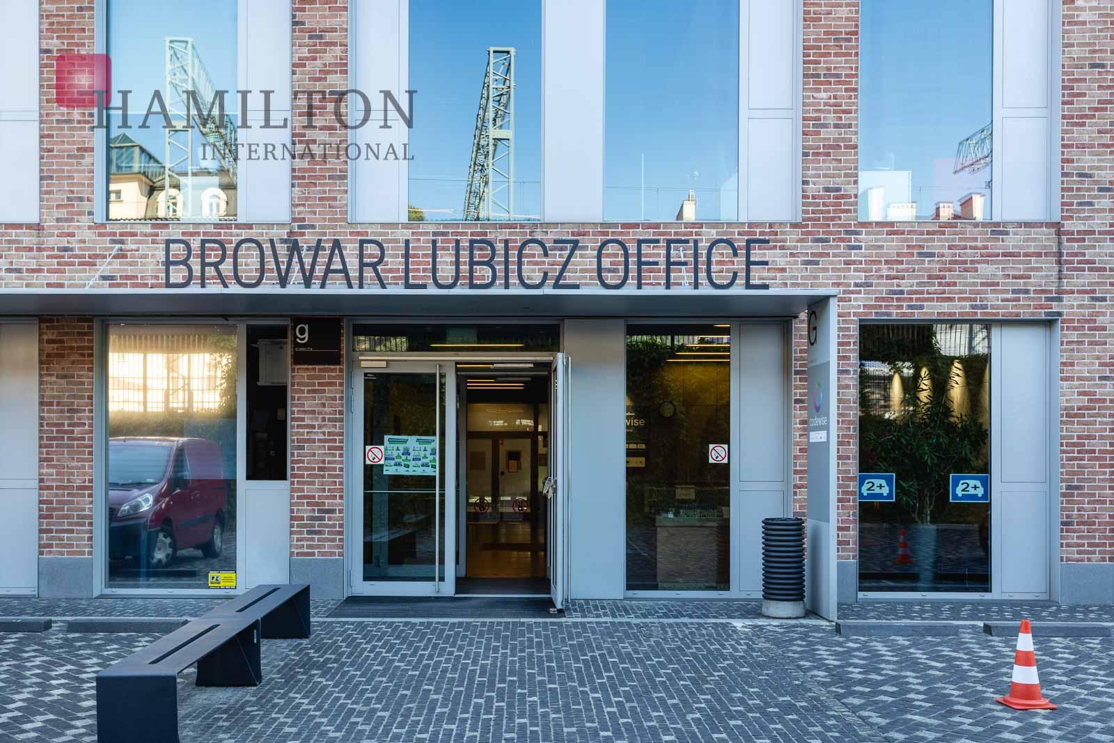 Browar Lubicz G Krakow office building photo