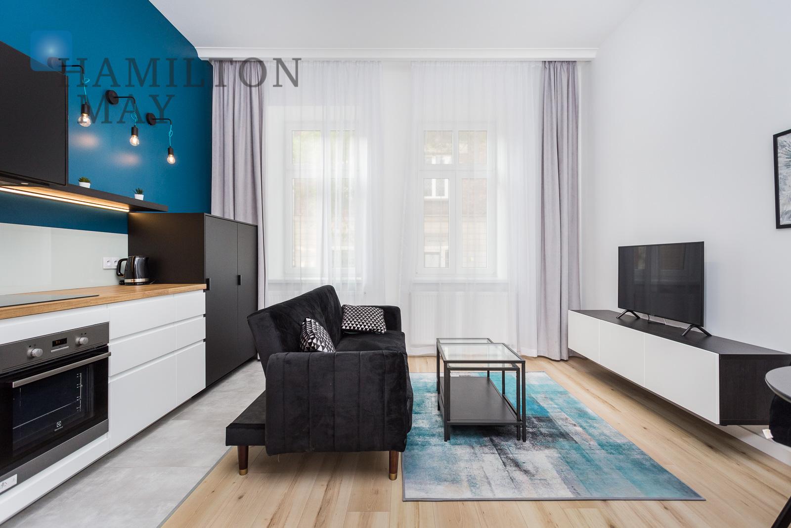 Brand new 1 bedroom apartment in Old Podgórze Krakow for rent