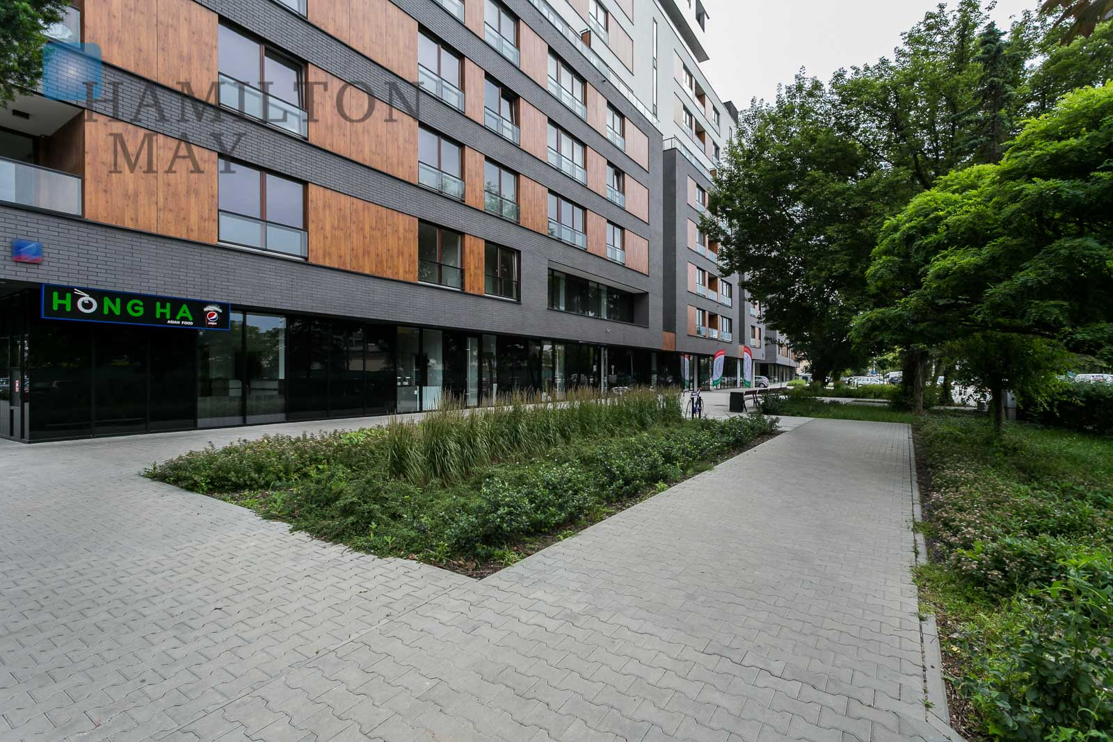 A two bedroom apartment in the InCity development, by the Rondo Daszyńskiego metro station Warsaw for rent