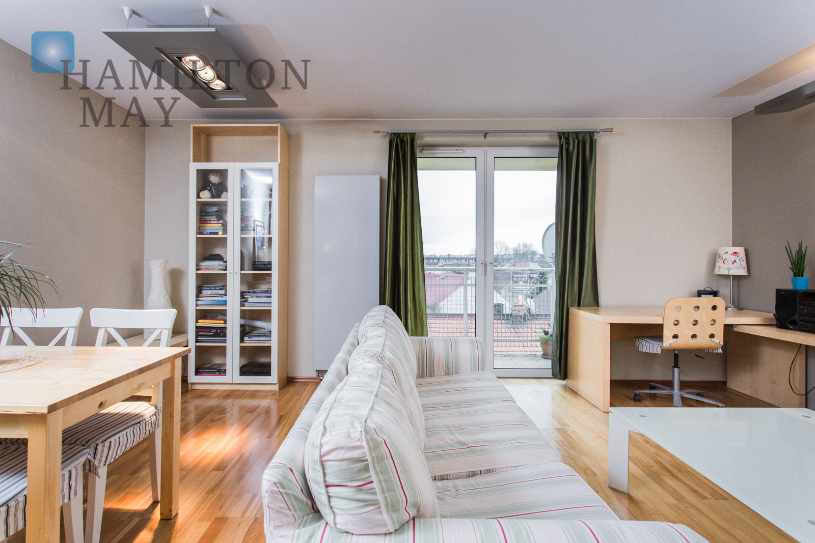 1bedroom apartment in nearby Rondo Business Park Krakow for sale