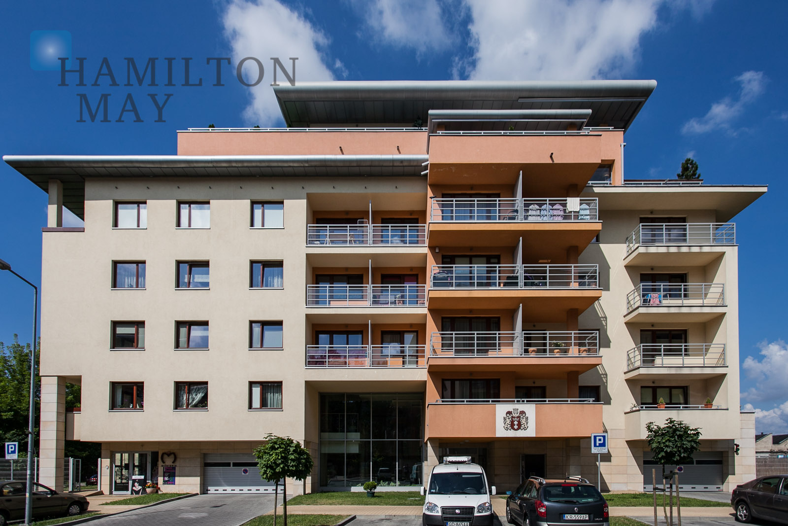 A luxurious spacious apartment with two terraces for sale, located on ul. Poznańska. Krakow for sale