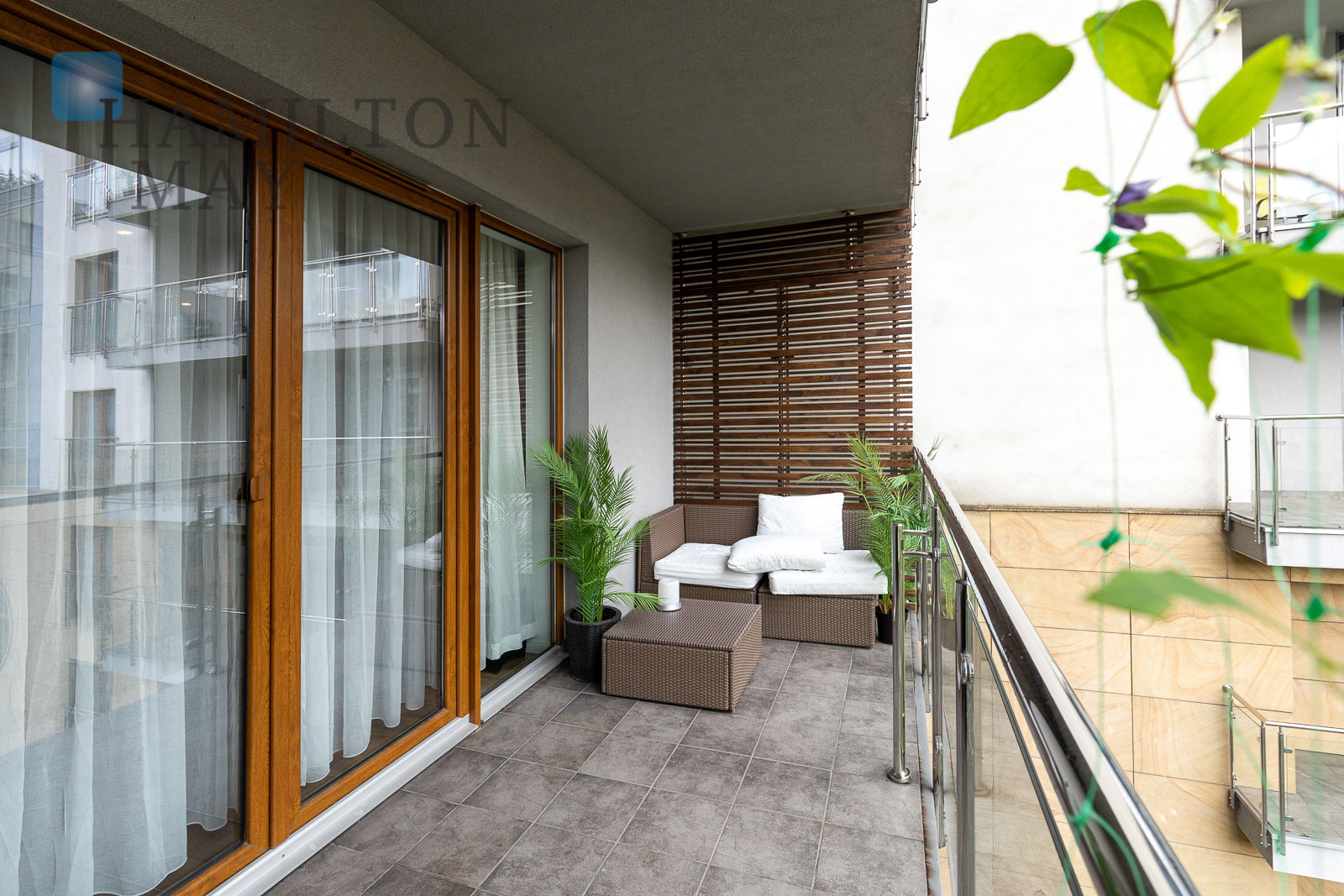 A spacious 79m2 apartment with 2 bedrooms in the Vistula Terraces development Krakow for sale