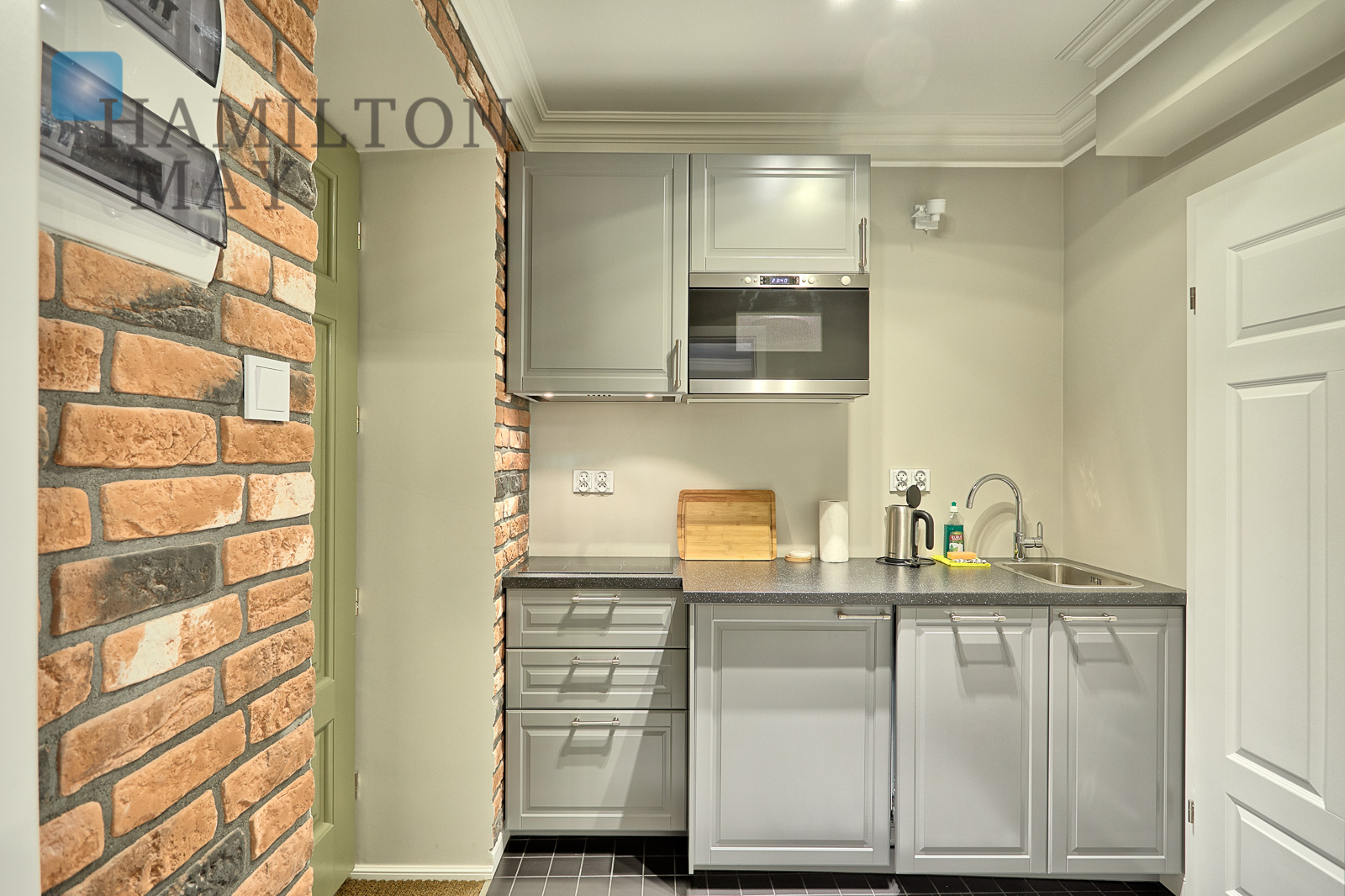 An apartment in a new townhouse situated just a 5min walk from the Main Market Square Krakow for rent