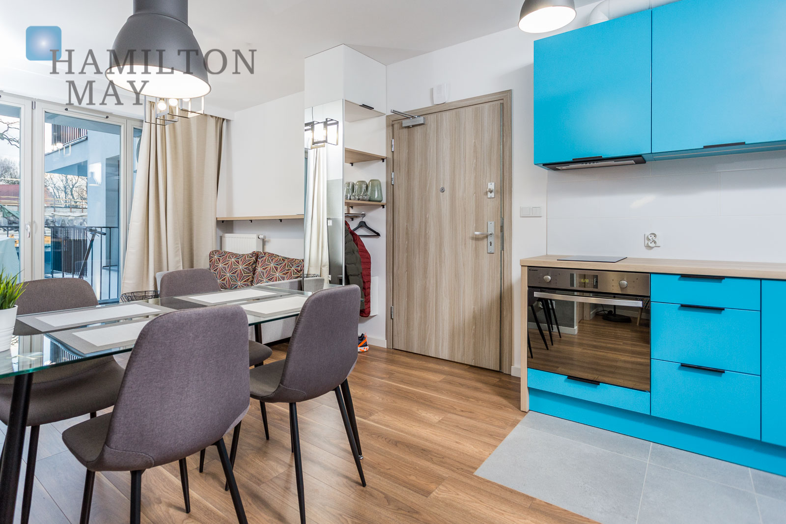 For sale a high standard 2-bedroom apartment located in a new development - ul. Miodowa - Kazimierz.  Krakow for sale