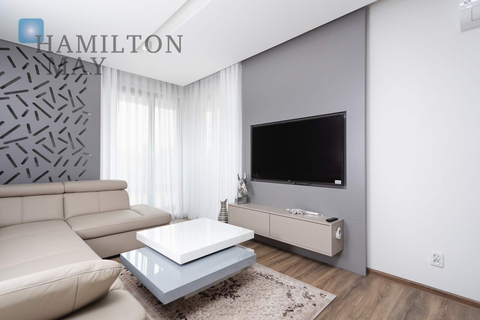 A new, luxuriously arranged apartment with a large terrace Krakow for rent