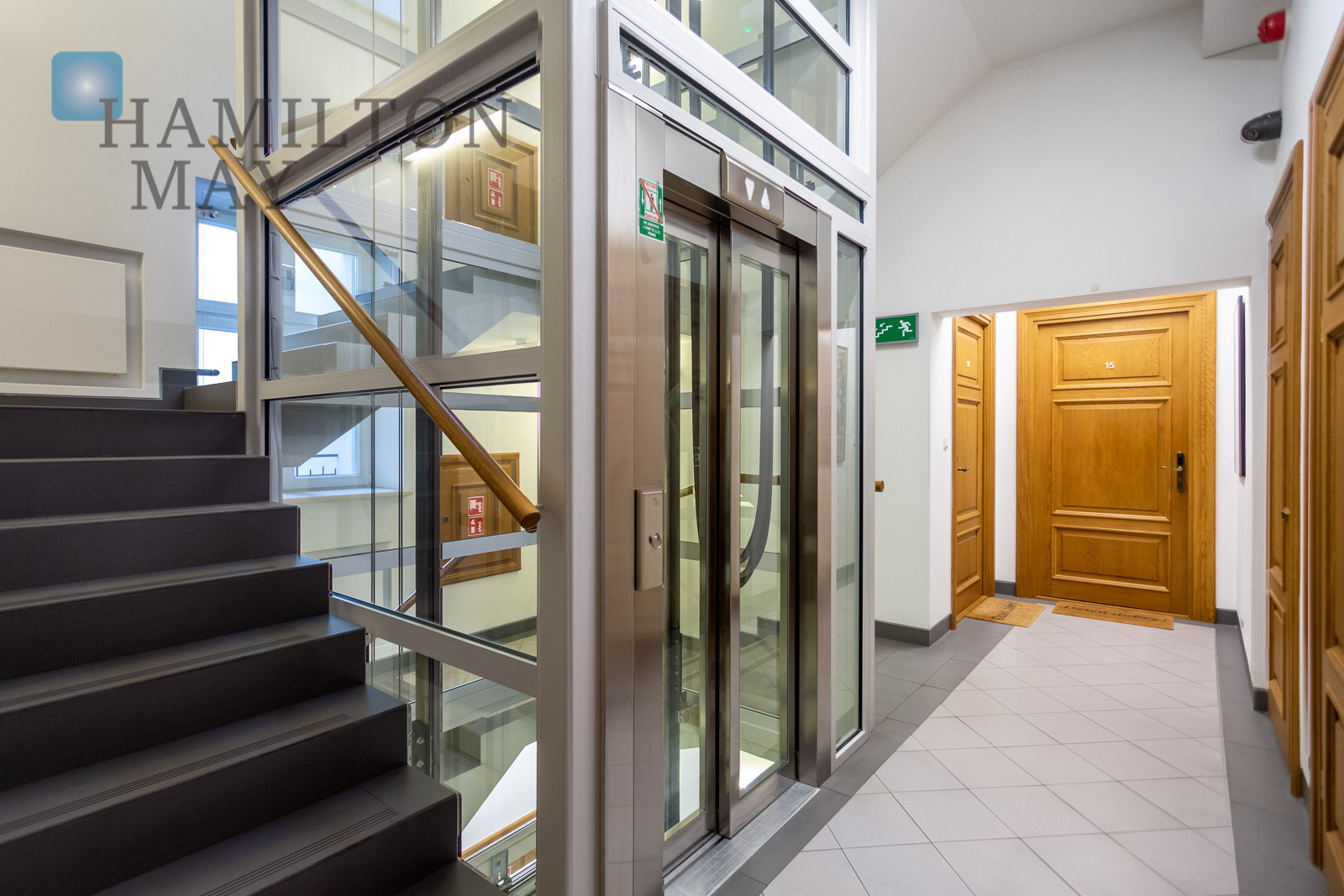 A modern, air-conditioned studio apartment in the vicinity of the Wawel Castle Krakow for rent