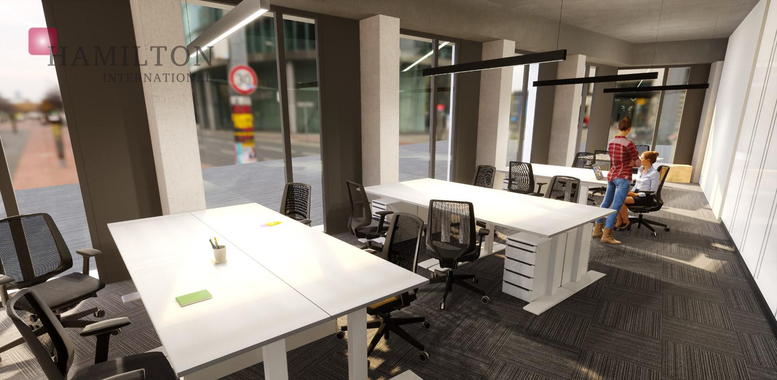 CitySpace Beethovena Warszawa serviced lease term main photo