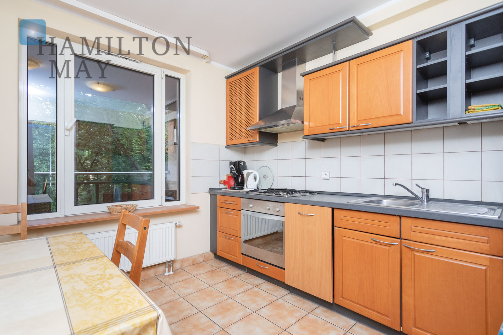 A three-room apartment in an apartment building in the Old Town Krakow for sale