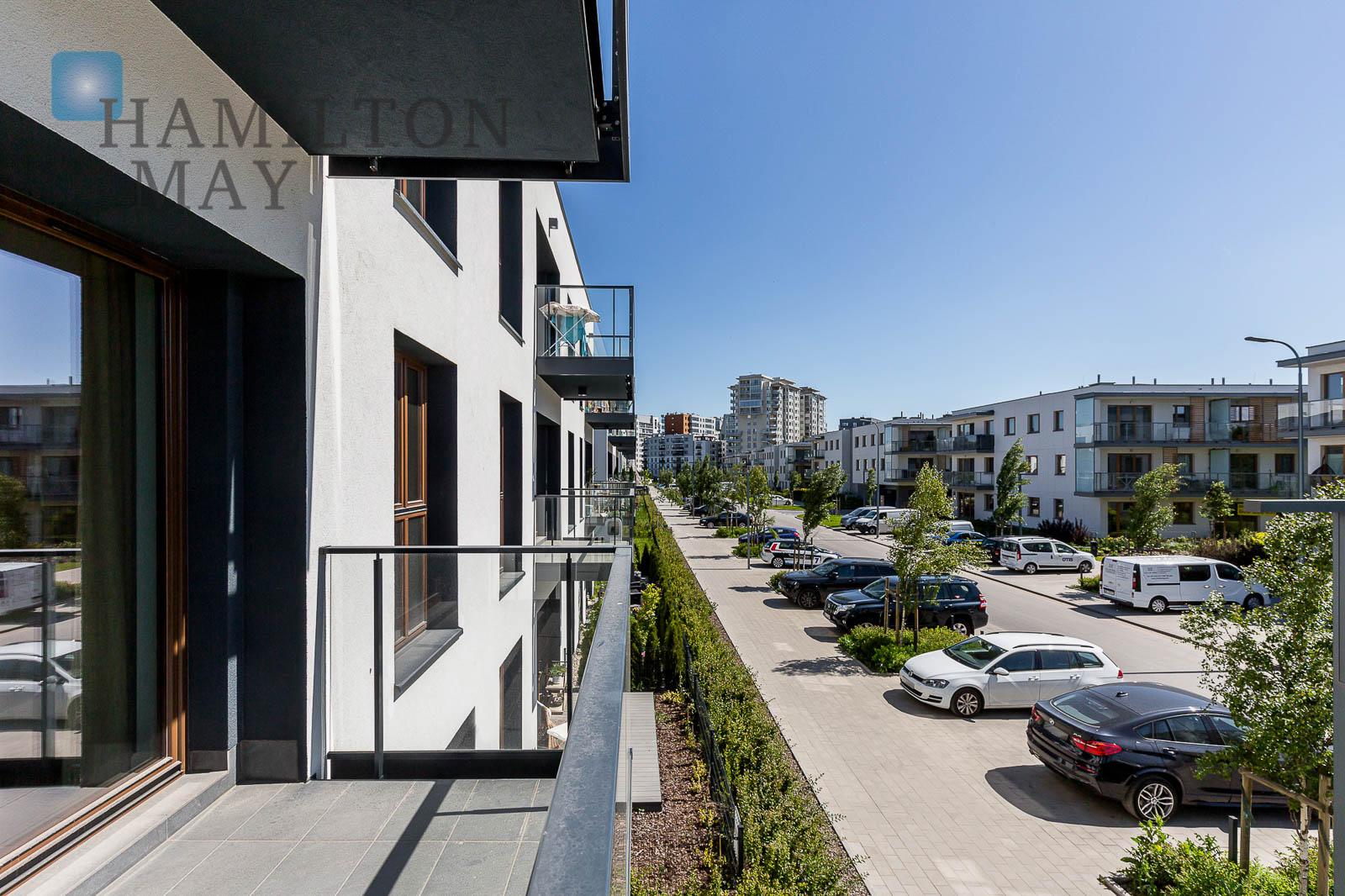 Wygodne mieszkanie w nowym kameralnym budynku na Mokotowie Warszawa na wynajem