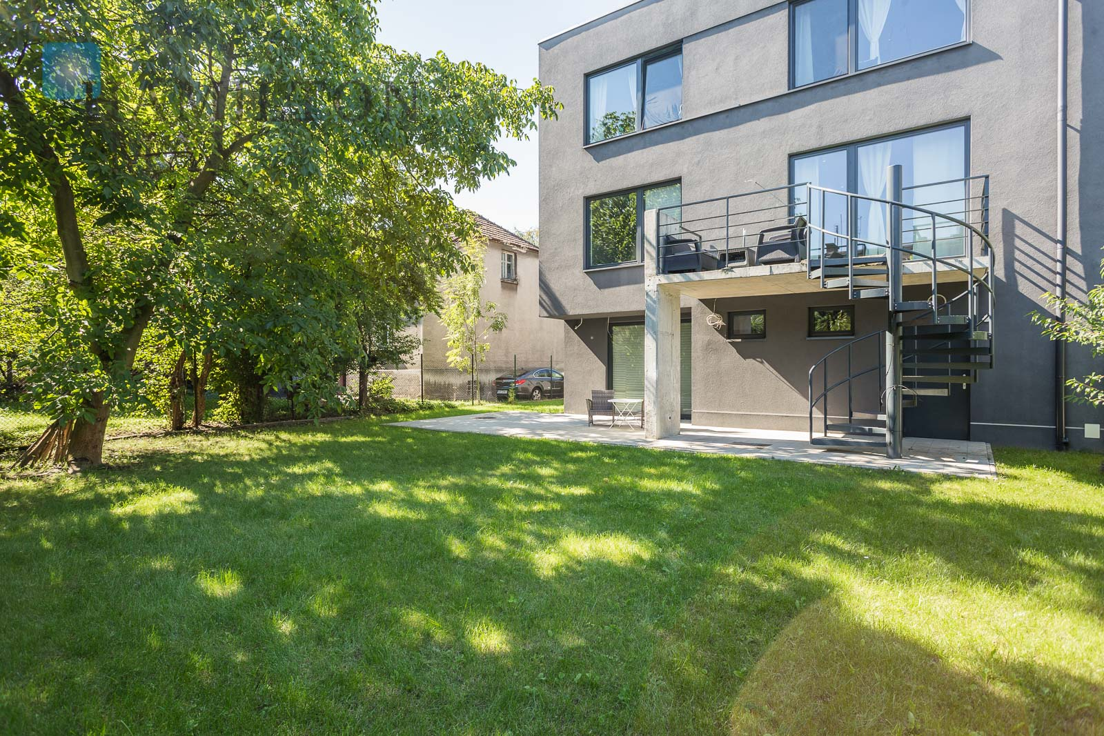A modern house available for sale in the green and peaceful part of Olsza Krakow for sale