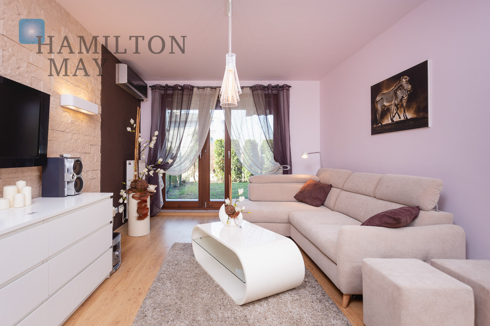Cozy, 1-bedroom apartment with garden in a convenient location Krakow for rent