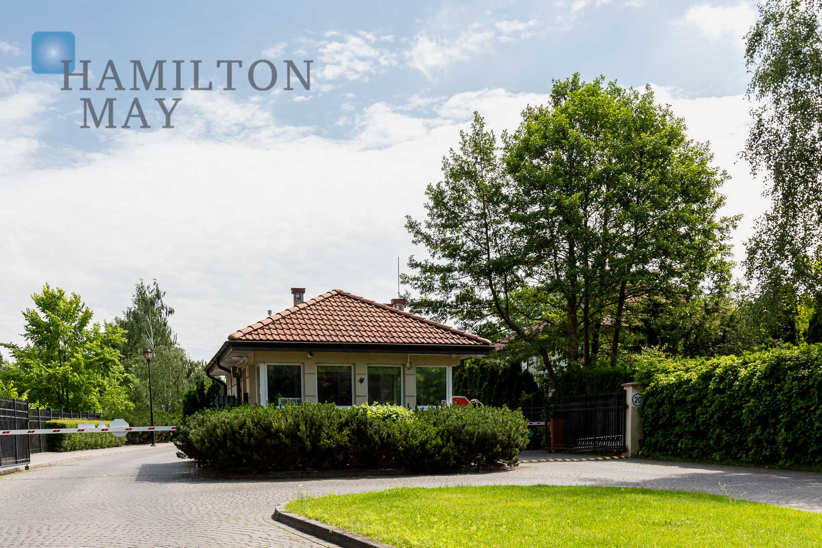 A house located within the area of the Kampinowski Park Warsaw for sale