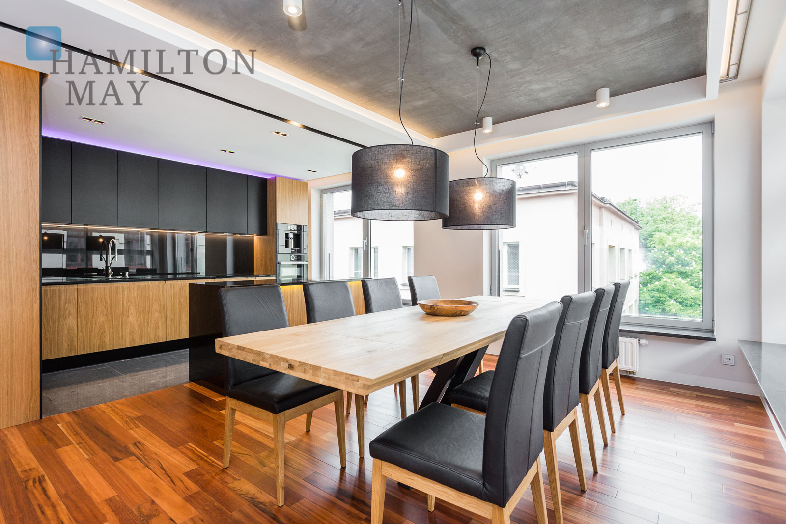 Luxurious and spacious 2 bedroom apartment in a modern investment in Podgórze Park Hill Krakow for rent