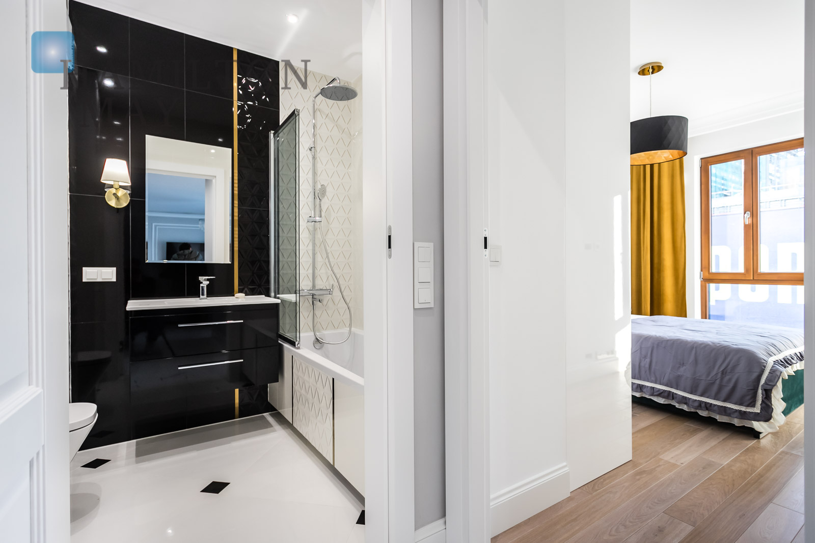 Stylishly furnished apartment in the new Metropoint investment at ul. Karolkowa Warsaw for rent