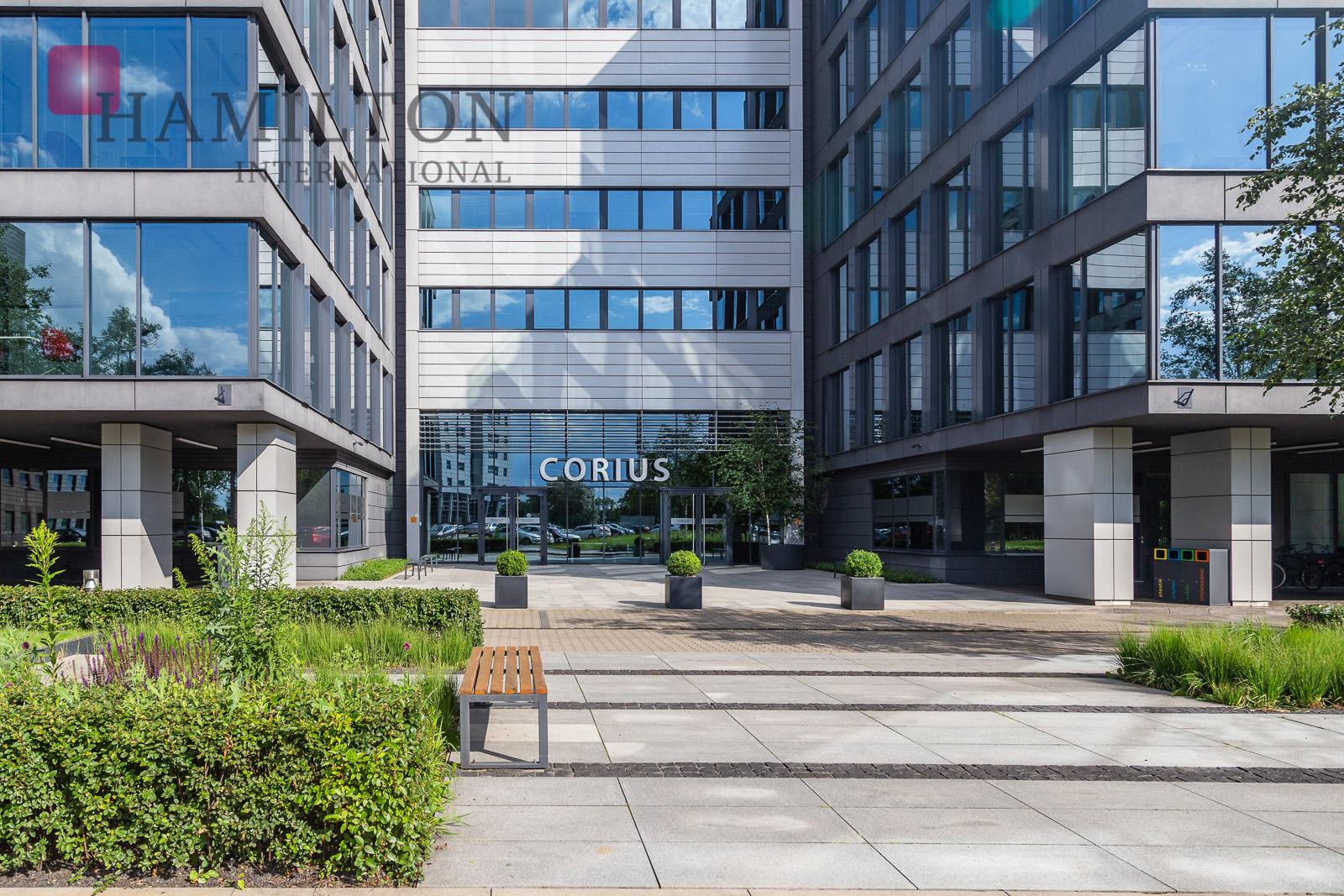 Aeropark Business Centre Corius Warsaw office building photo